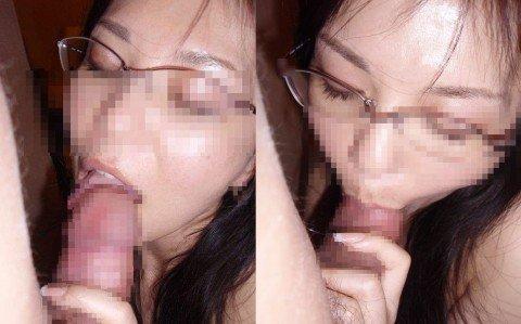 唾液の匂いが思想な素人のフェラチオエロ画像 116