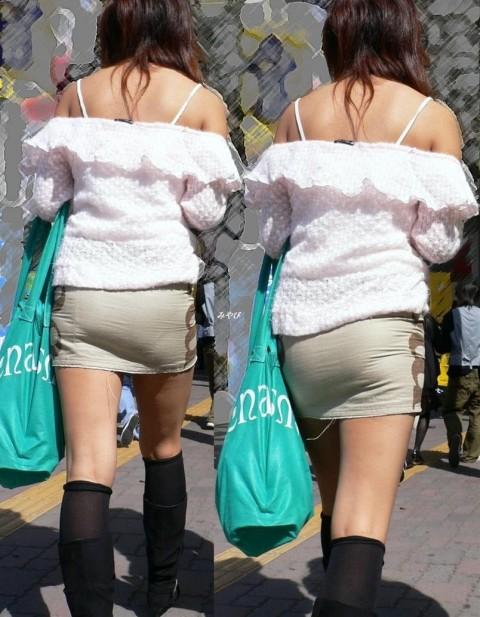 透けパンツや透けブラにちんこが反応する素人娘のお尻エロ画像 149