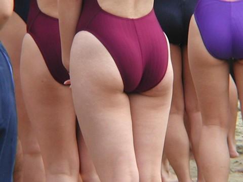 競泳水着を着た素人アスリートたちのエロ画像 2620