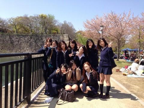 青春を謳歌しているリア充女子校生のエロ画像 2418