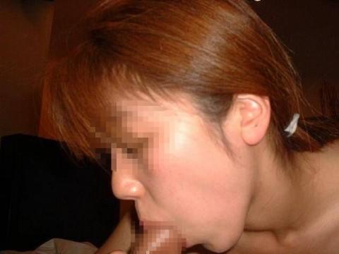 素人娘が生々しい舌使いでフェラチオしてるエロ画像 ero1135