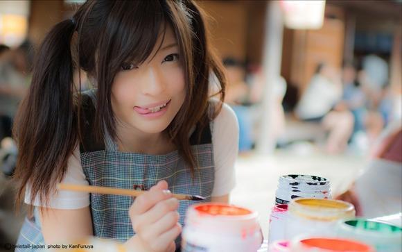 到底素人とは思えない程可愛い美少女女子大生のエロ画像 760
