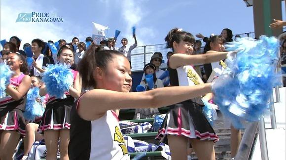 高校野球のテレビ放送で映った女子校生達の素人エロ画像 1066