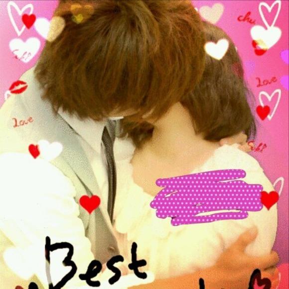 リア充カップルがキスしたり女子校生がキャピキャピしてるプリクラのエロ画像 1078