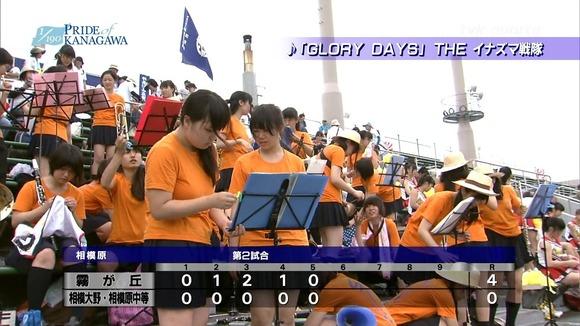 高校野球のテレビ放送で映った女子校生達の素人エロ画像 11106