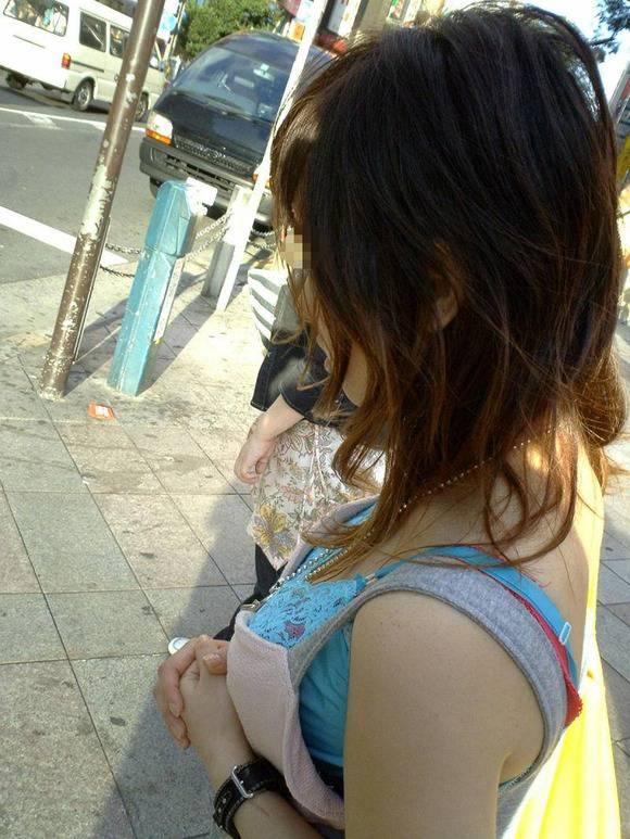 ただ服を着ただけの街撮り素人娘がめっちゃオナニーのおかずになってしまうエロ画像 1311