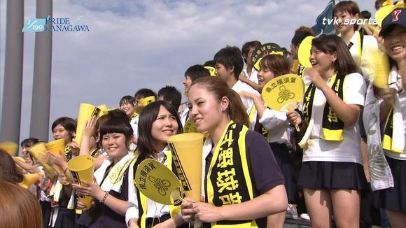 高校野球のテレビ放送で映った女子校生達の素人エロ画像 1466