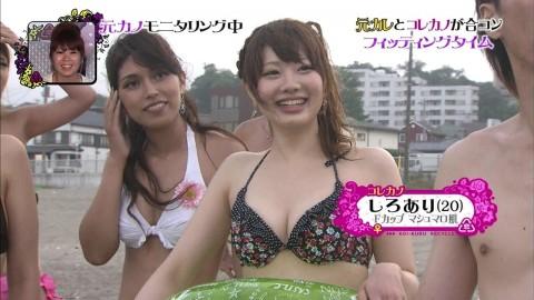 テレビに映った激カワ素人娘たちのキャプエロ画像 2085