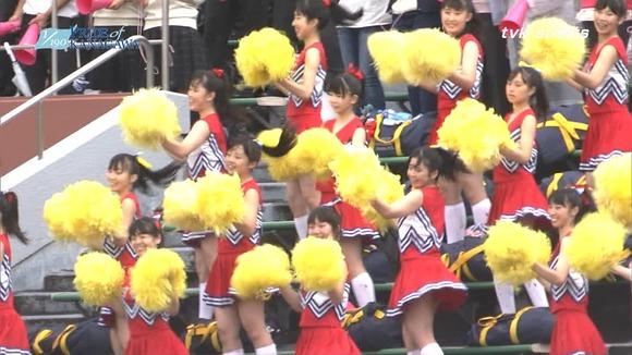 高校野球のテレビ放送で映った女子校生達の素人エロ画像 2205
