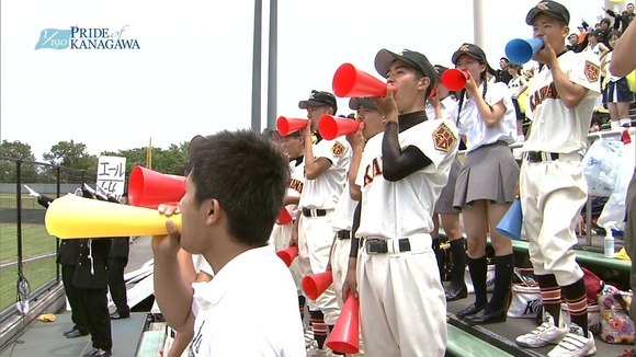 高校野球のテレビ放送で映った女子校生達の素人エロ画像 2367