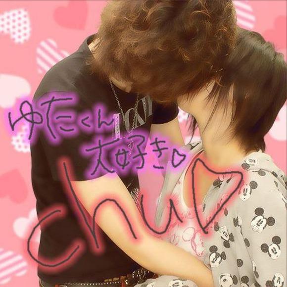 リア充カップルがキスしたり女子校生がキャピキャピしてるプリクラのエロ画像 2376