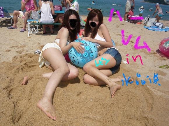 夏のビキニギャルは眩しくてめっちゃ可愛い素人エロ画像 2518