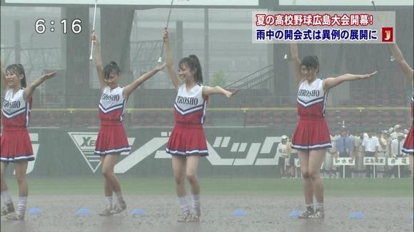 高校野球のテレビ放送で映った女子校生達の素人エロ画像 2566