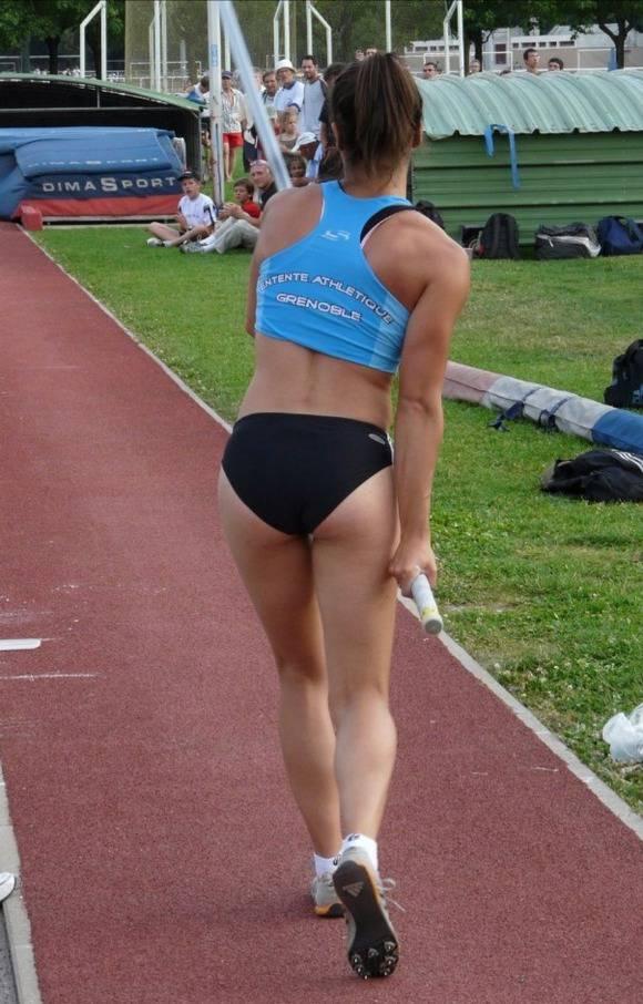 スポーツ選手・アスリート達の引き締まったお尻や太ももやおっぱいのエロ画像 2585