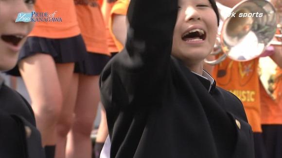 高校野球のテレビ放送で映った女子校生達の素人エロ画像 2764