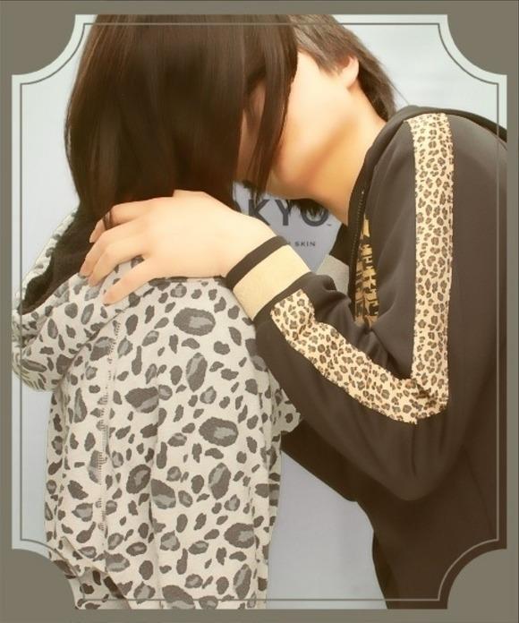 リア充カップルがキスしたり女子校生がキャピキャピしてるプリクラのエロ画像 2773