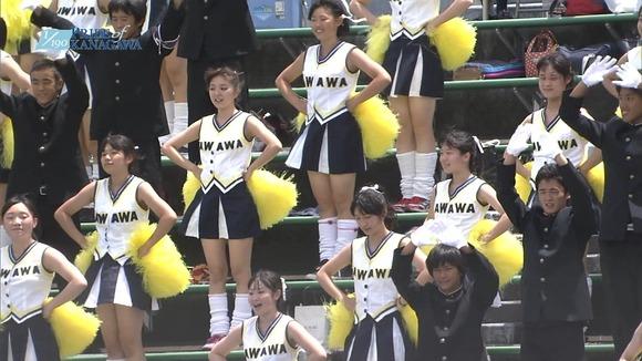 高校野球のテレビ放送で映った女子校生達の素人エロ画像 2863