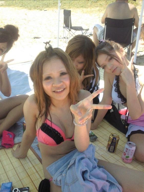 夏のビキニギャルは眩しくてめっちゃ可愛い素人エロ画像 2916