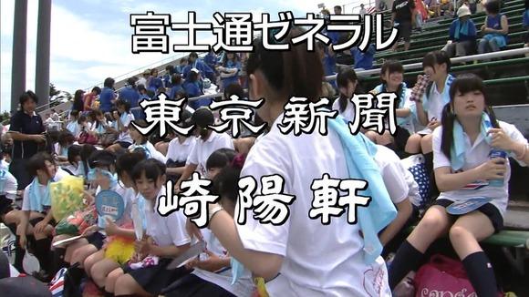 高校野球のテレビ放送で映った女子校生達の素人エロ画像 31100