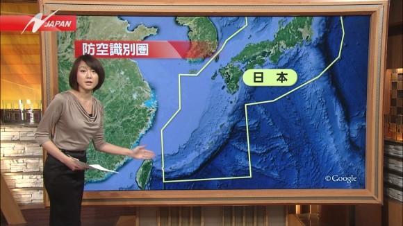 女子アナ大島由香里の服から溢れんばかりの着衣巨乳おっぱいエロ画像 3169