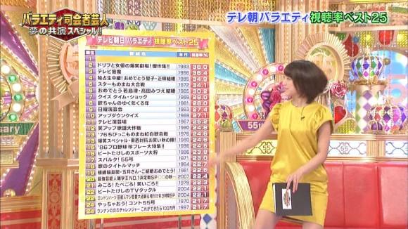 女子アナ竹内由恵がワキチラしてるキャプエロ画像 3193