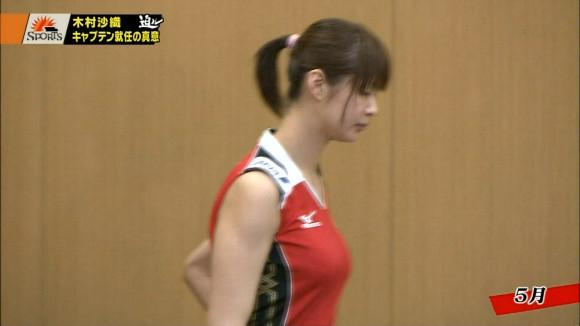 女子バレーの巨乳おっぱい担当木村沙織のエロ画像 3268