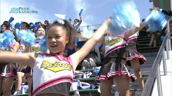 高校野球のテレビ放送で映った女子校生達の素人エロ画像 3455