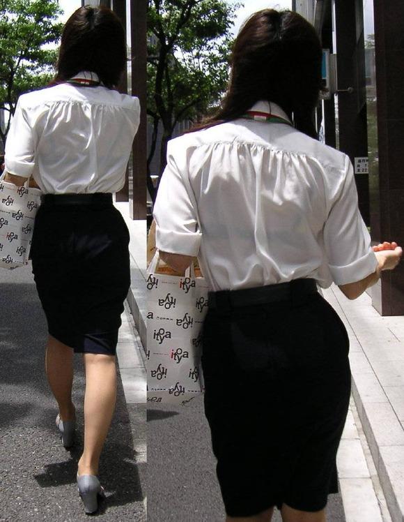 透けブラしてる素人娘の街撮りエロ画像 3544