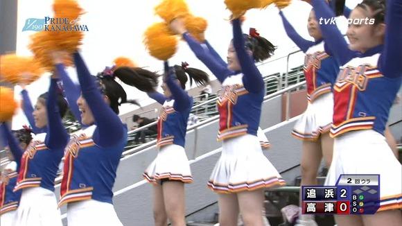 高校野球のテレビ放送で映った女子校生達の素人エロ画像 3740