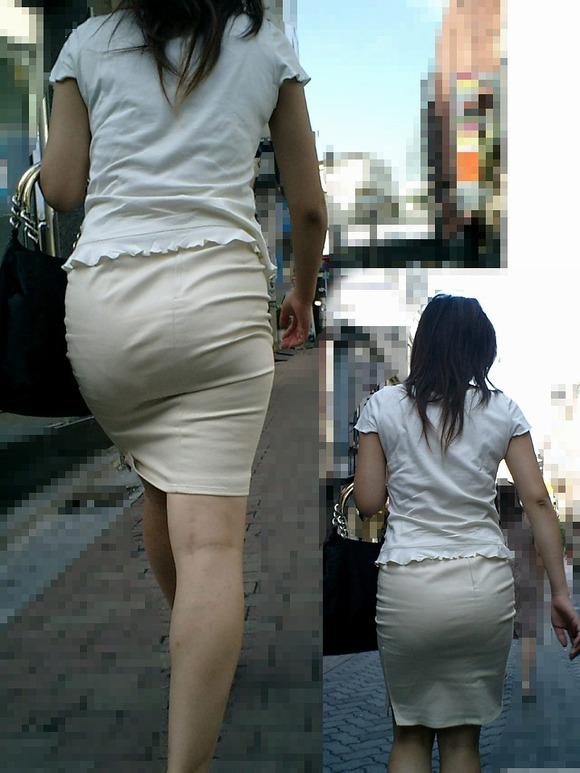街撮りされた素人お姉さん達のムッチリお尻のエロ画像 4018