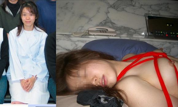 服を着てる時と裸になった時のギャップがエロい素人妻熟女のエロ画像 4109