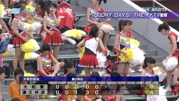 高校野球のテレビ放送で映った女子校生達の素人エロ画像 4710