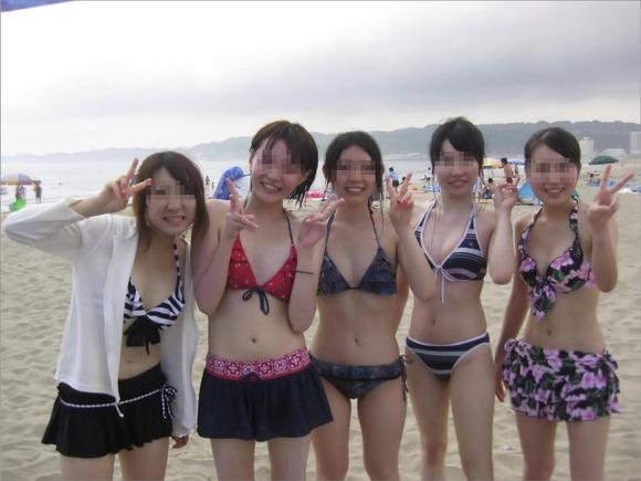 夏のビキニギャルは眩しくてめっちゃ可愛い素人エロ画像 625