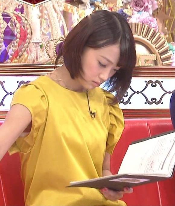 女子アナ竹内由恵がワキチラしてるキャプエロ画像 669