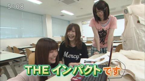 テレビに映った激カワ素人娘たちのキャプエロ画像 694