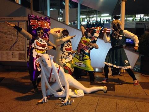 2013年のハロウィンで仮装してた素人たちのコスプレエロ画像 793