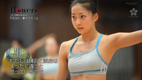 新体操の畠山愛里の着衣おっぱいがセクシーなキャプエロ画像 1254