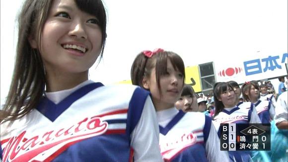高校野球を応援する女子校生チアガールが異常に可愛いキャプエロ画像 1334