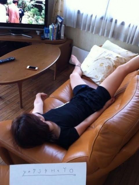 写メ撮られてネット流出したちょっとエッチな姉貴の寝姿エロ画像 1449