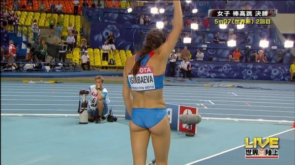 スポーツ選手たちの引き締まったお尻に視線が釘付けなキャプエロ画像 193