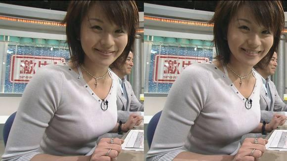 美人OLの女子アナがテレビでエッチな姿を披露するキャプエロ画像 2021