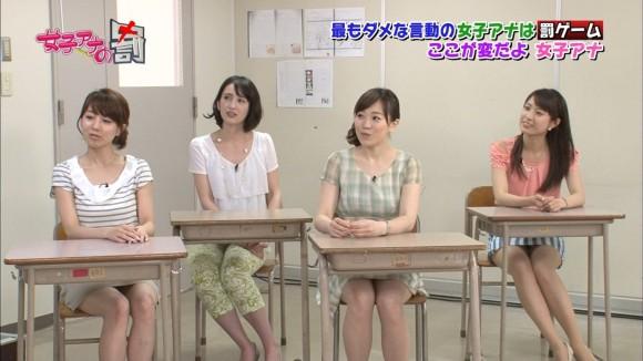 女子アナ・佐藤渚が可愛すぎるパンチラ画像 207