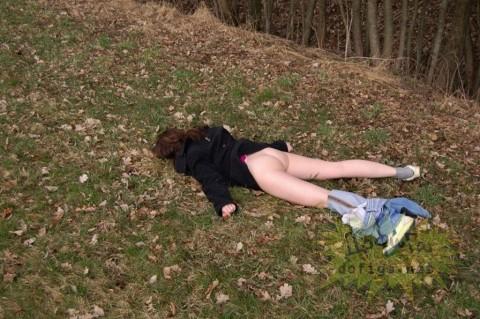 泥酔した外人がところ構わず寝たり露出しちゃってるエロ画像 2139