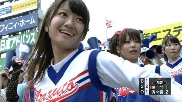 高校野球を応援する女子校生チアガールが異常に可愛いキャプエロ画像 2143