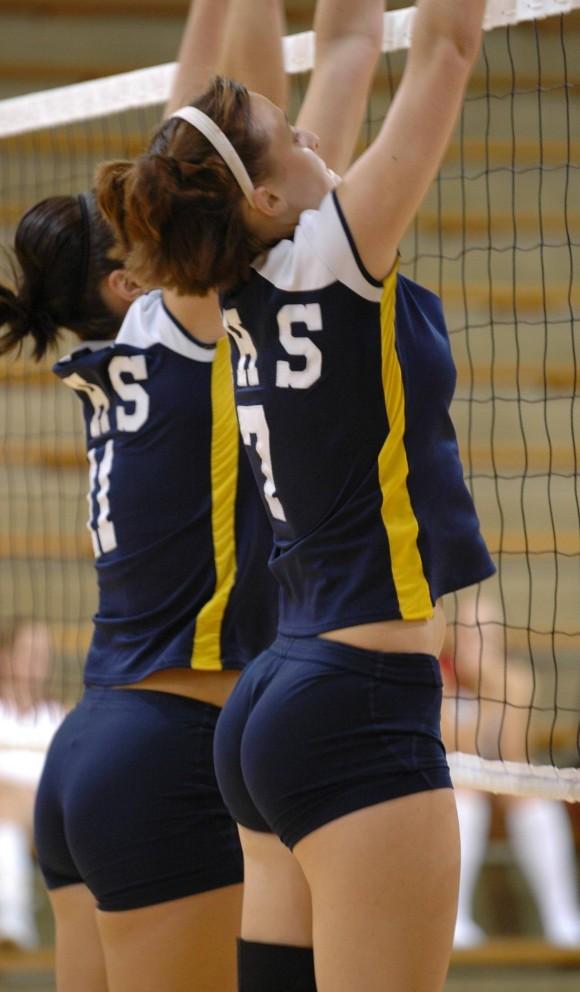 スポーツ選手たちの引き締まったお尻に視線が釘付けなキャプエロ画像 223