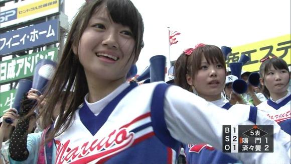 高校野球を応援する女子校生チアガールが異常に可愛いキャプエロ画像 2233