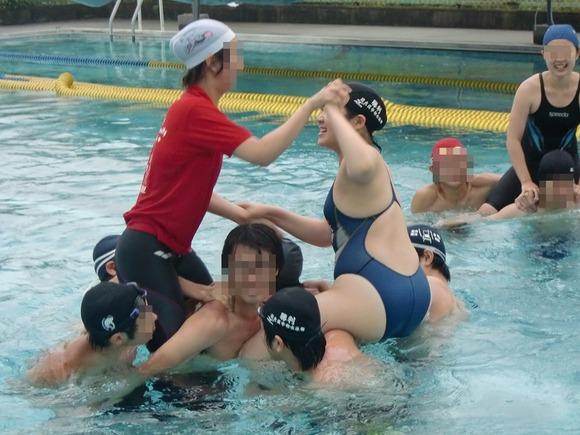 水泳部や陸上部の引き締まった体がエッチな素人娘たちのエロ画像 2326