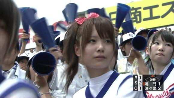 高校野球を応援する女子校生チアガールが異常に可愛いキャプエロ画像 2429