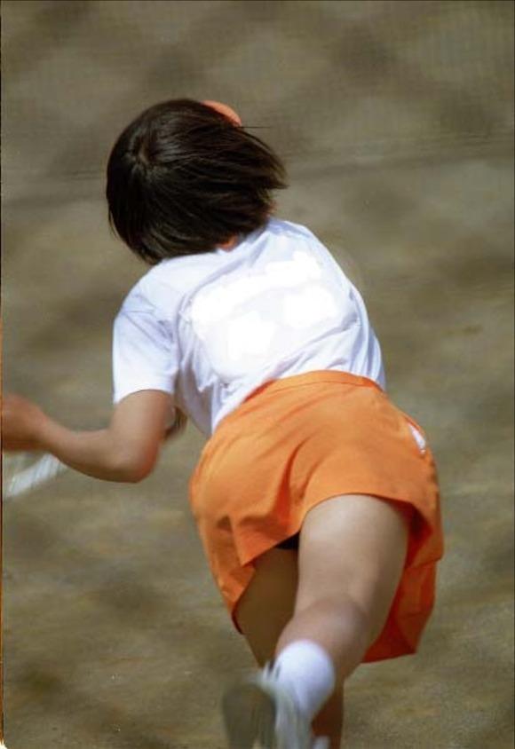 テニス部の女子が試合を頑張ってるお尻のエロ画像 2510