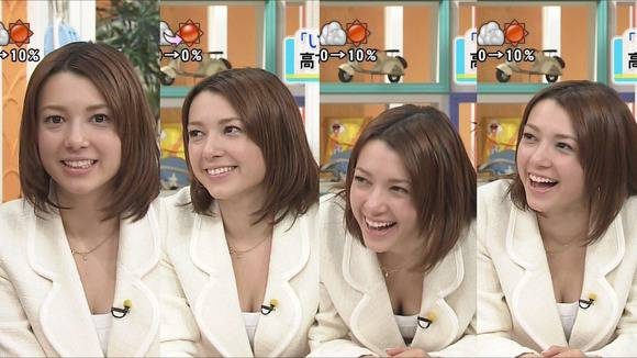 美人OLの女子アナがテレビでエッチな姿を披露するキャプエロ画像 2518